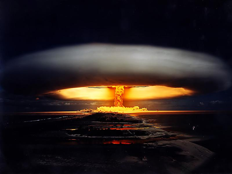the explosion of tsar bomba